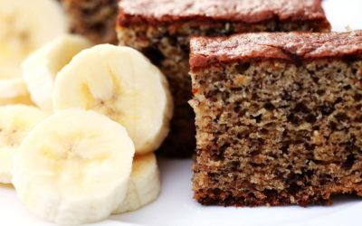 Bolo de Banana Proteico